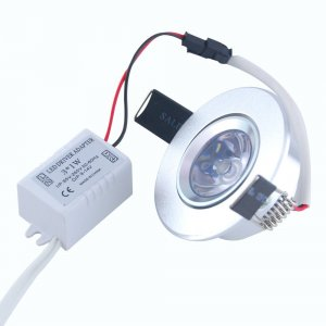 3W RGB LED Recessed Ceiling Light Downlight