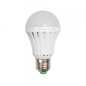 5W E27 LED Light Bulb 350LM Voice Light Control Lamp-Globe Shape