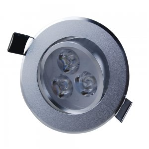3W Recessed Ceiling Light Downlight -Aluminum Shell 180-210LM