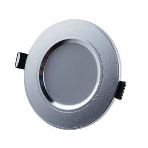 3W Recessed Ceiling Light Downlight Frosted - 165-195LM